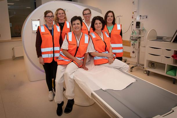 TEAM SLAGALARM: Sanna P. Olsen, Cecilie Rød, Kristin Berg Pettersen, Maria C. Holand, Diana H. Berg og Ida Bakke.