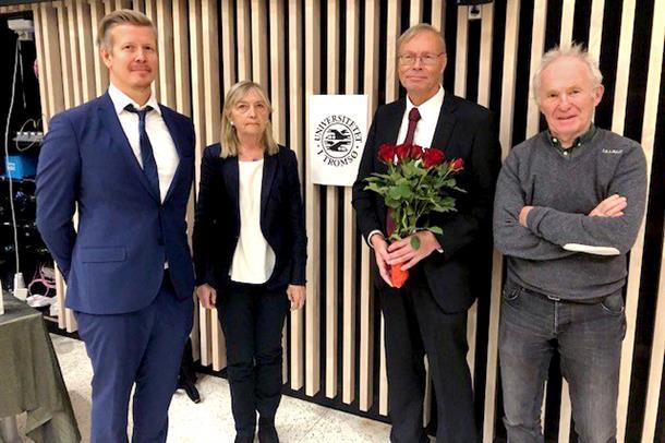 Bjørn Holdø disputerte