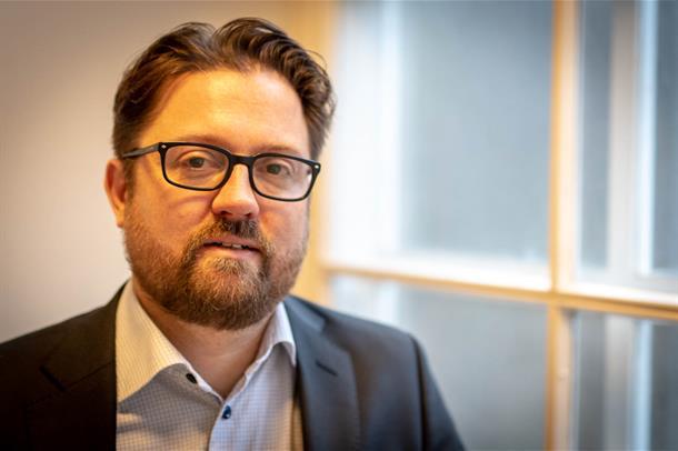 Portrett psykologspesialist Erling Kvig